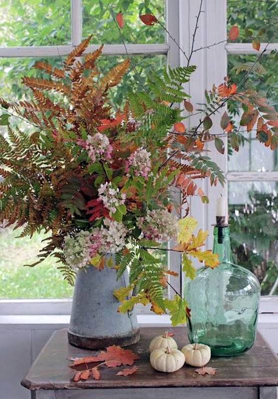 40+ Φθινοπωρινές Διακοσμήσεις με φυσικά υλικά