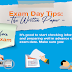 Exam Day Tips: The Written Paper #infographic