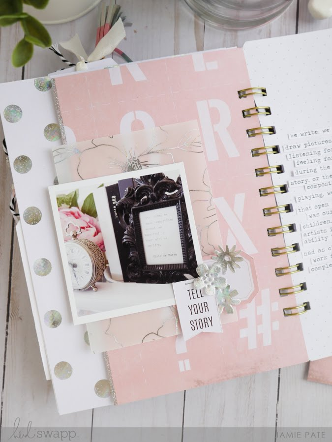 5 Ways To Put Heidi Swapp Minc On a Page by Jamie Pate | @jamiepate for @heidiswapp