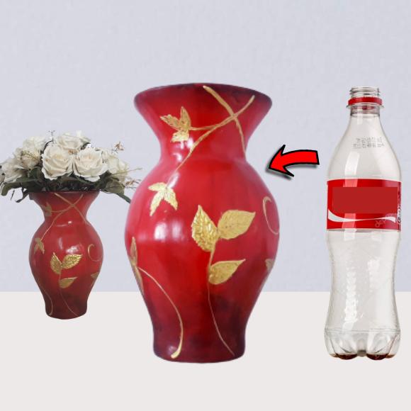 aprenda Como fazer vaso de garrafa pet