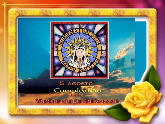 Novena in preparazione al compleanno della Madre della Salvezza, dal 27 luglio al 4 agosto