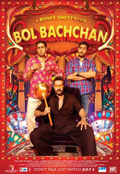 Poster of Bol Bachchan 2012 720p Hindi BRRip Full Movie Download