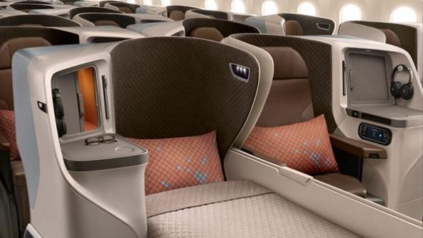 Singapore Airlines 787-10 Perth - Sydney