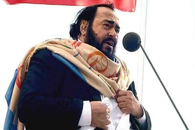 Luciano Pavarotti - Tenor Opernsänger - Lied und Gesang