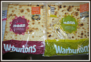 naan bread, Indian, Warburtons