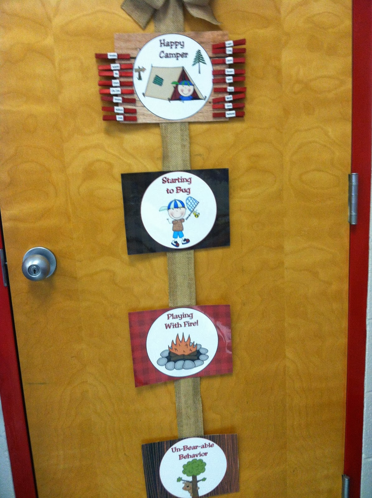 Mrs Mcdonald S 4th Grade Camping Themed Classroom