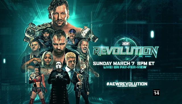 Ver AEW Revolution 2021 En vivo En Español Online