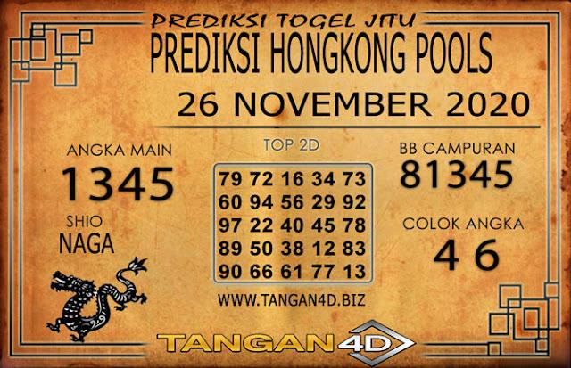 PREDIKSI TOGEL HONGKONG TANGAN4D 26 NOVEMBER 2020