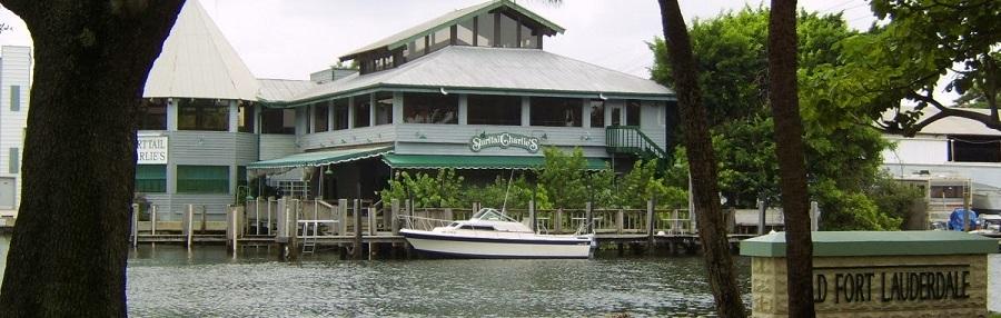 A orillas del río en Fort Lauderdale