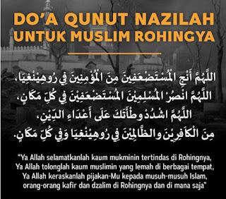 Doa Qunut Nazilah Rohingya