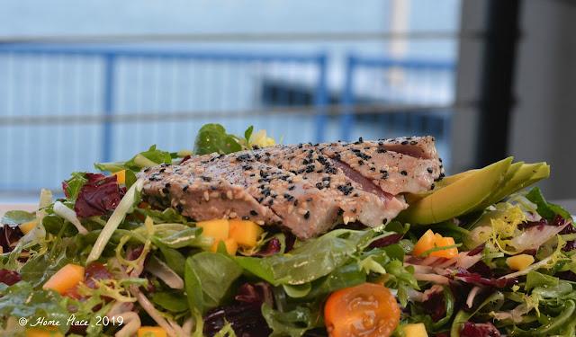 Boca Oyster Bar Sashimi Tuna Salad