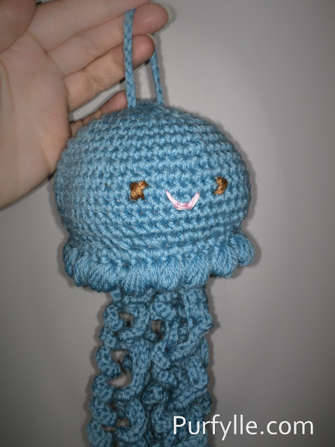 Crochet Jellyfish Face