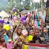 KSR PMI Unit STIKes RS Haji Medan Kunjungi Korban Bencana Banjir.
