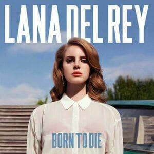 Lana Del Rey, capa do álbum 'Born To Die'.