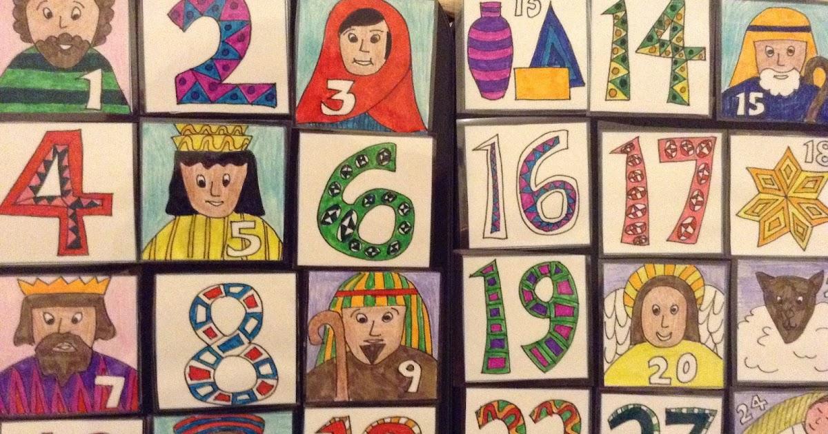 Diy Advent Calendar Nativity : Flame creative children s ministry diy nativity advent