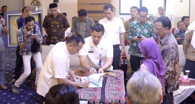 Pilkada 2018, Pemprov Lampung Hibahkan Rp360,4 Miliar ke KPU dan Bawaslu