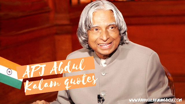 Motivational Quotes By A. P. J. Abdul Kalam
