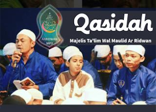 Mp3 Qasidah Majelis Taklim Wal Maulid Ar-Ridwan Malang