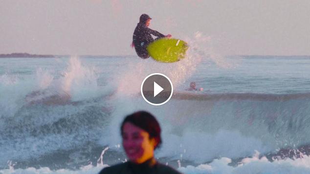 【これぞ究極のツインフィンスタイル】twin fin surfing Koki Nakamura