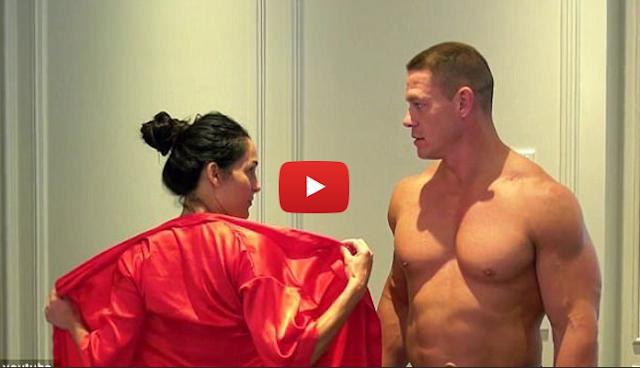 Aksi Gila Bintang WWE John Cena dan Nikki Bella, Bikin Video Bugil untuk Rayakan 500 Ribu Subcribe