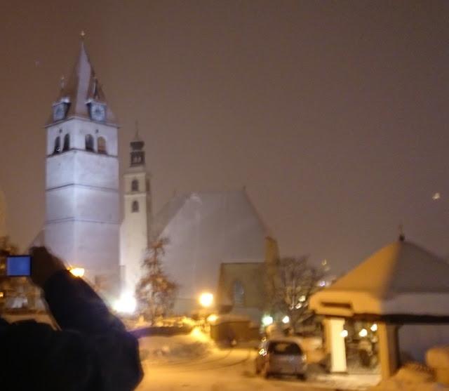 Abendspaziergang in Kitzbühel - Stadtpfarrkirche und Liebfrauenkirche