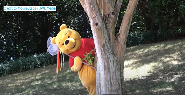 Reimagined Character meet and greets Winnie the Pooh Phased Reopening EPCOT Walt Disney World Resort