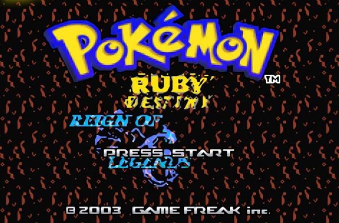 Pokémon Ruby Destiny 1: Reign of Legends (GBA)