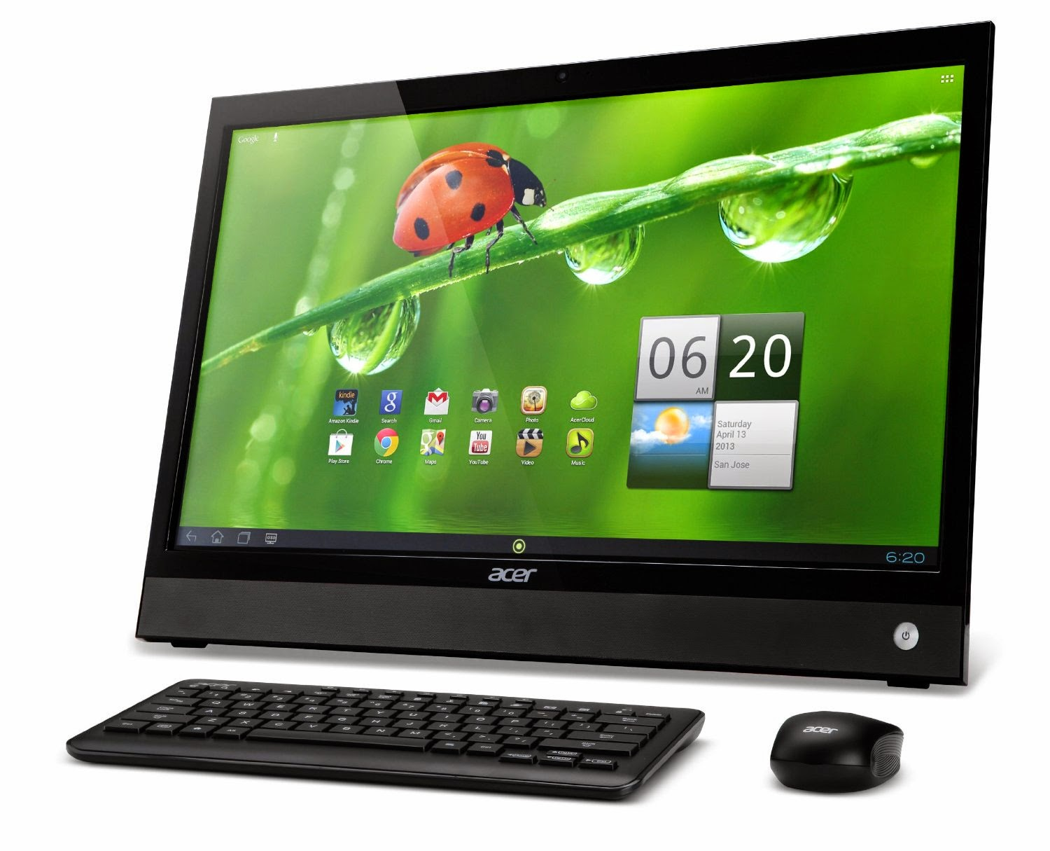Acer DA220HQL 21.5-Inch Android All-In Touchscreen Desktop