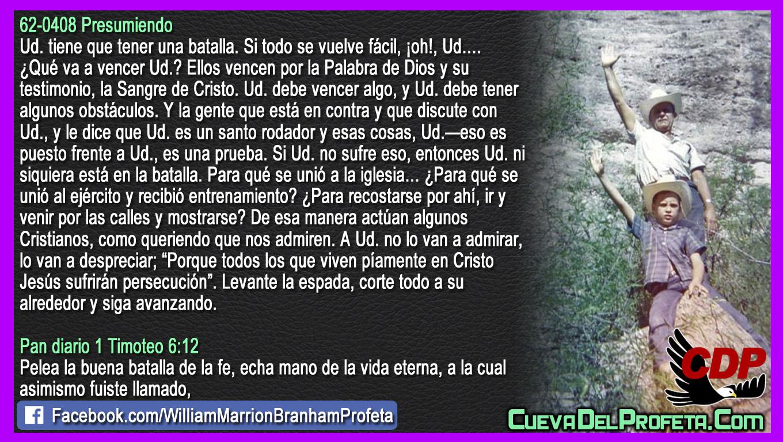 No lo van a admirar lo van a despreciar - William Branham en Español