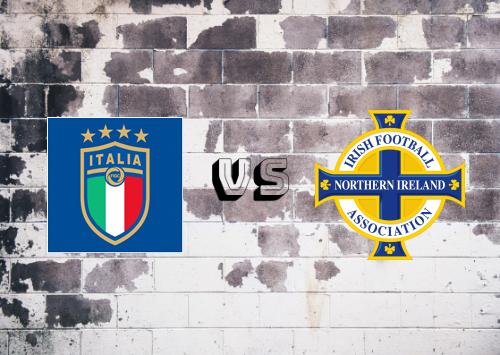 Italia vs Irlanda del Norte  Resumen y Partido Completo