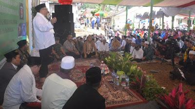Bupati Sukabumi Hadiri Peringatan Maulid Nabi Muhamad SAW Di Ponpes Miftahul Ulum