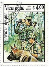 Selo Forças Armadas da Nicarágua