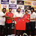 "A ""T20 Mumbai"" for & only for Mumbaikars! The launch of Team Sobo Supersonics in T20 Mumbai By Cricketer and Chief Mentor of the team Zaheer Khan, cricketer icon player of the team Abhishek Nayar, cricketer and head coach of the team Amit Dani"