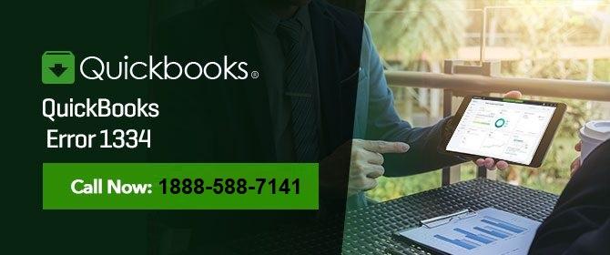 How To Fix - QuickBooks Pro Error 1334