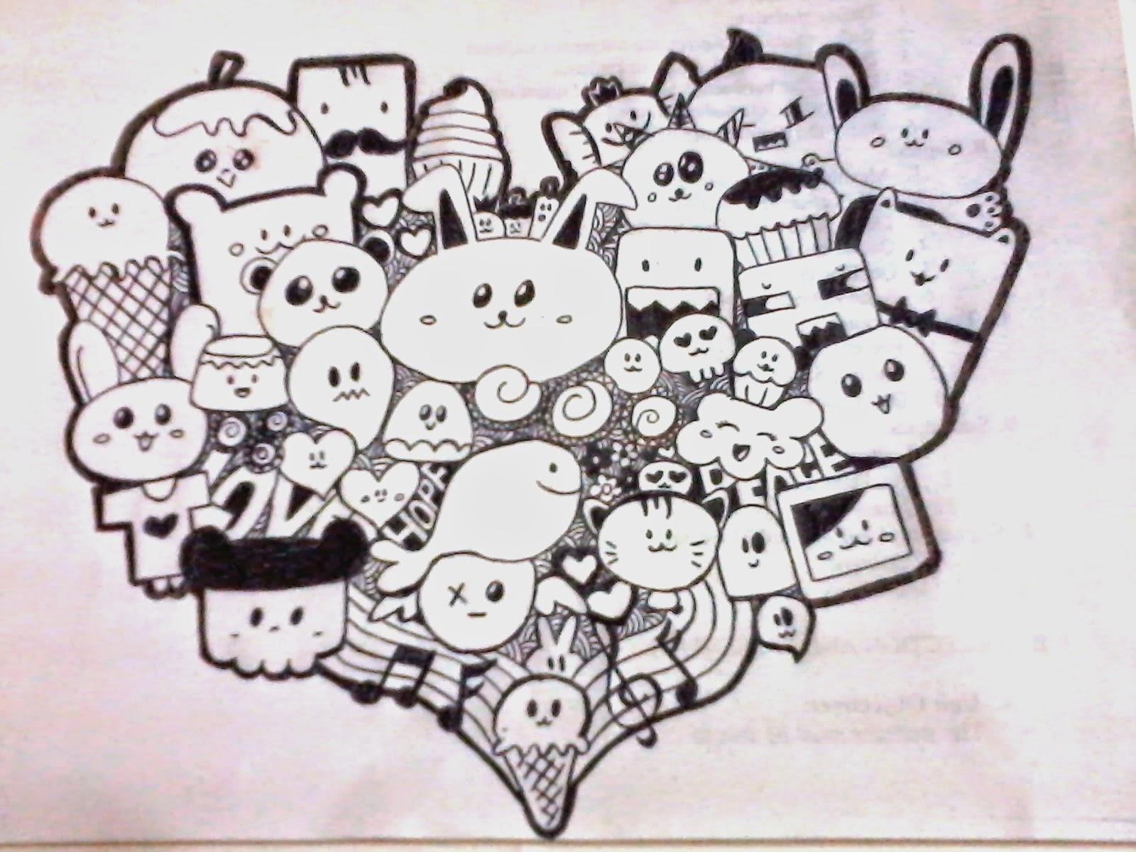 Kumpulan Gambar Sketsa Grafiti Minion