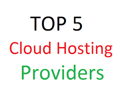 Top 5 Cloud Hosting Providers