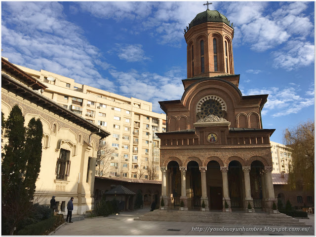 Monasterio Antim, siglo XVIII, no es la catedral