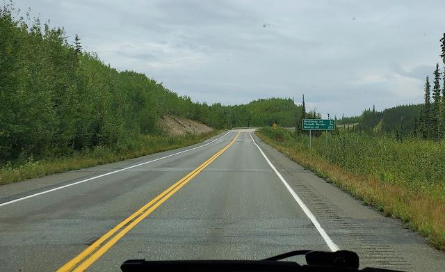 Alaska Highway Mileage post