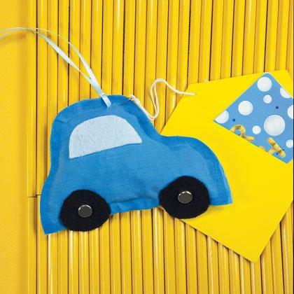 Happy Travels Car Sachet