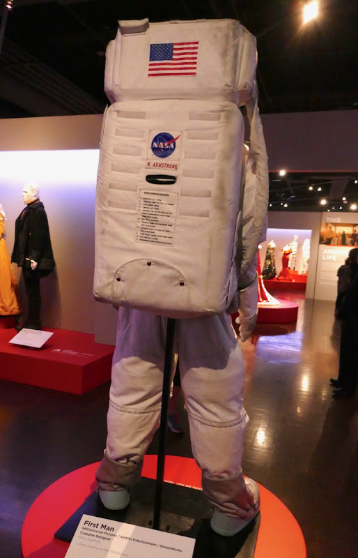 First Man Neil Armstrong Apollo NASA spacesuit back