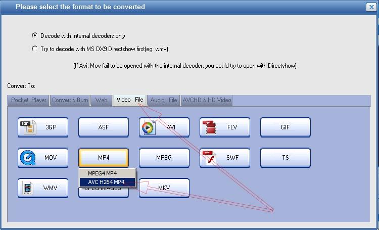 Cách sử dụng Total Video Converter 3.71 Full để đổi đuôi video  b