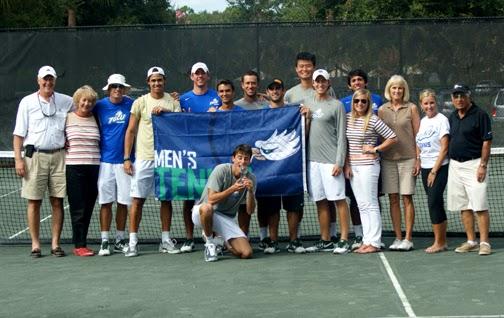 T. A.'s Take on Tennis: FGCU MEN'S TENNIS EAGLES SOAR AT ...