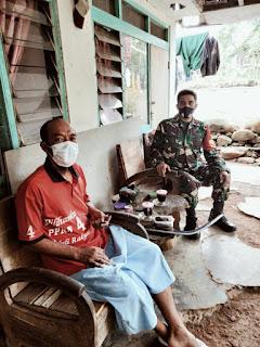 Sersan Dua Supardi Sosok Prajurit Yang Ramah pada Masyarakat Binaan
