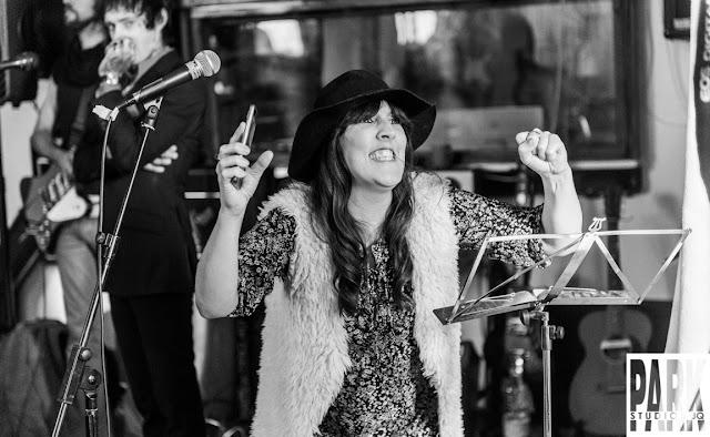 Brandy Row and the Coalition of Sound | Birmingham Recording Studio | Park Studios JQ | female singer