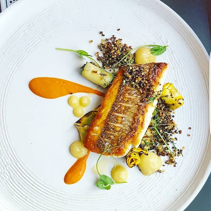 How to make Rainbow Trout Brandade with Fermented Fennel and Pine Nut Crème Fraîche