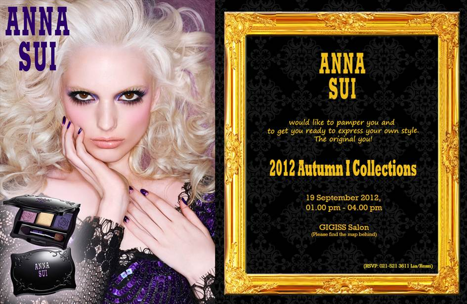 Event : Anna Sui 2012 Autumn I Collection Launching Event
