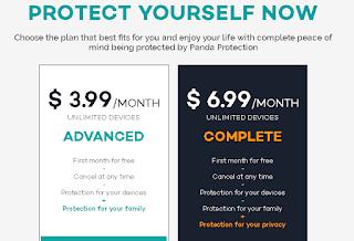 Harga dari Panda Antivirus