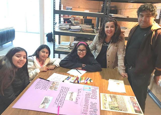 Regional Iquique apoya a Club Pequeños Periodistas de Pozo Almonte