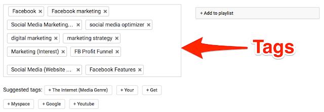 Video file Meta tags