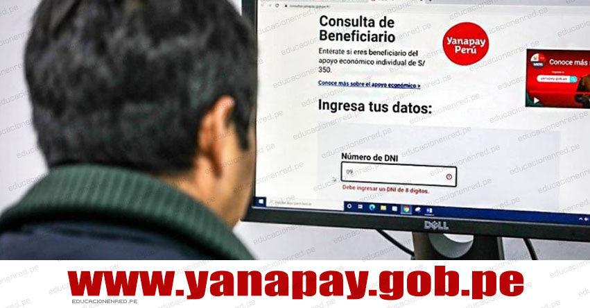 WWW.YANAPAY.GOB.PE - Desde hoy 19 de Setiembre ya puedes conocer en si eres beneficiario del apoyo económico [INGRESAR NÚMERO DNI LINK OFICIAL]